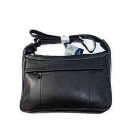SGI LEATHERGOODS LEATHER HANDBAG