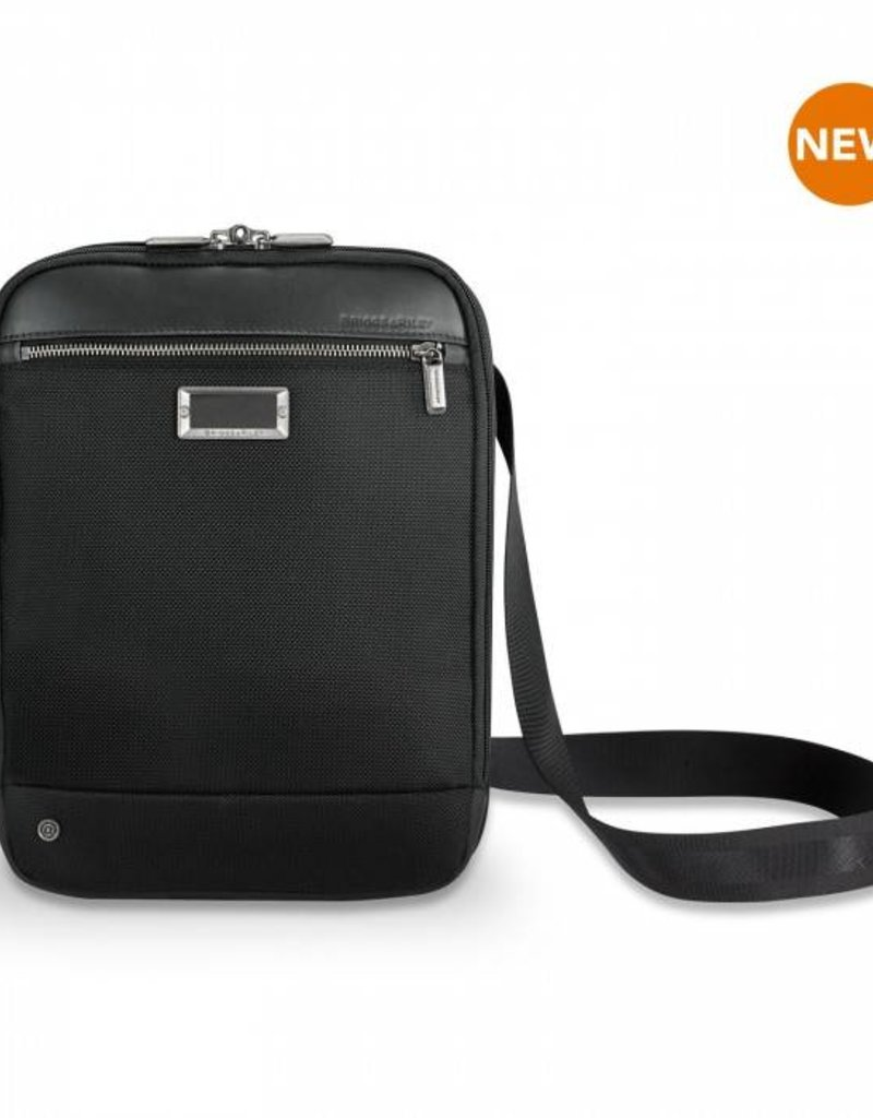 BRIGGS & RILEY KA410X SMALL EXPANDABLE CROSS BODY BLACK