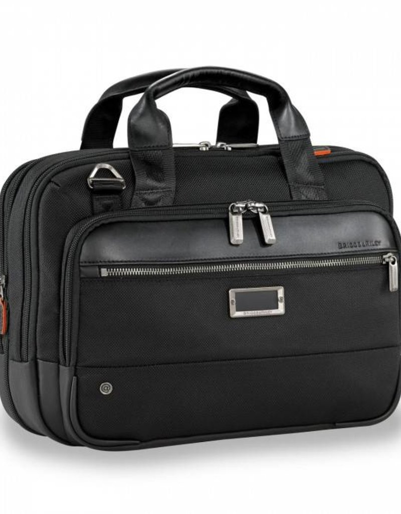 BRIGGS & RILEY KB415X SMALLL EXPANDABLE BRIEF BLACK