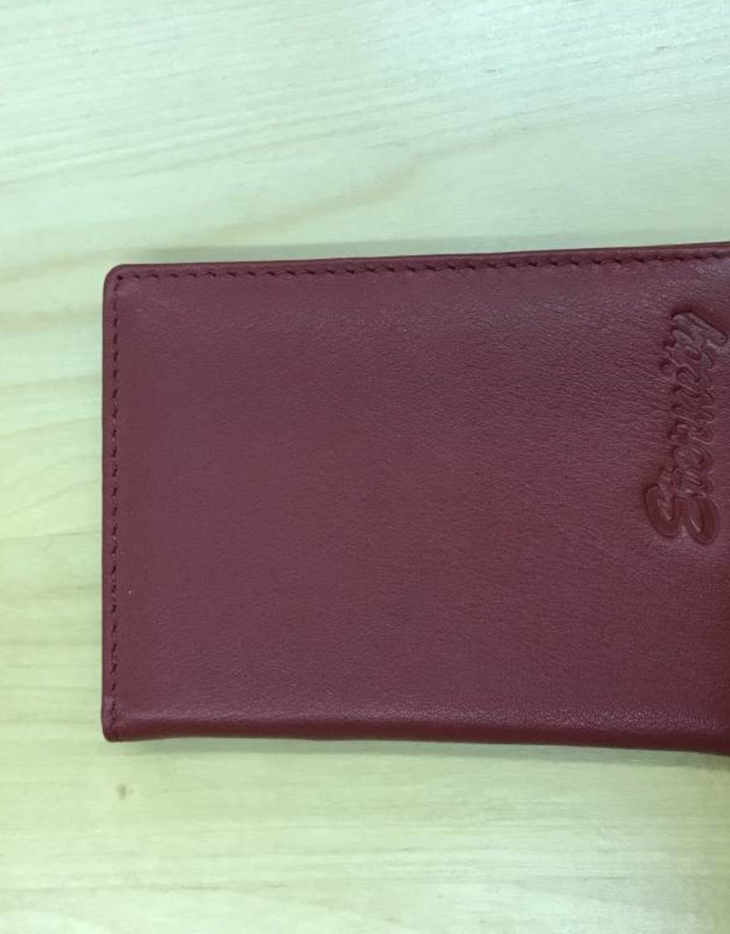 SGI LEATHERGOODS 1009 RFID CARD CASE ASSORTED