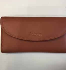 SGI LEATHERGOODS 619 ORANGE RFID LADIES WALLET