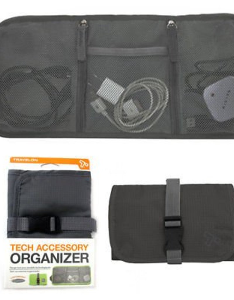 TRAVELON 43134 530 CHARCOAL TECH ORGANIZER