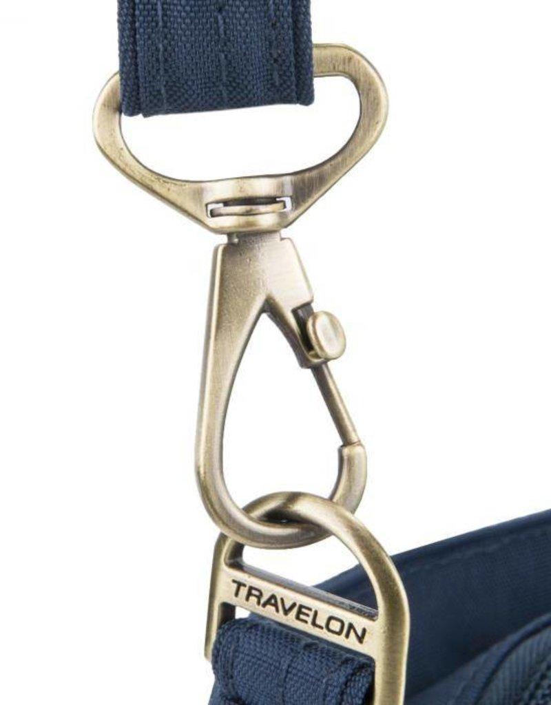 TRAVELON 43323-500 BLACK ANTI THEFT E/W SLIM