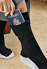 POCKET SOCKS 7733 ANKLE SOCK MEDIUM BLACK SECURITY