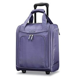 SAMSONITE WHEELED UNDERSEATER LARGE CLOUD PURPLE