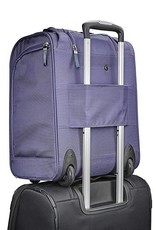 SAMSONITE 55478-1718 WHEELED UNDERSEATER LARGE PURPLE