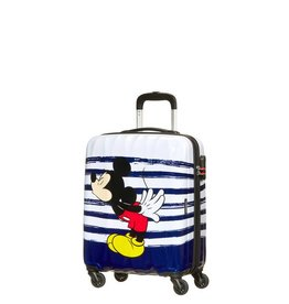 AMERICAN TOURISTER MICKEY KISS CARRY ON SPINNER