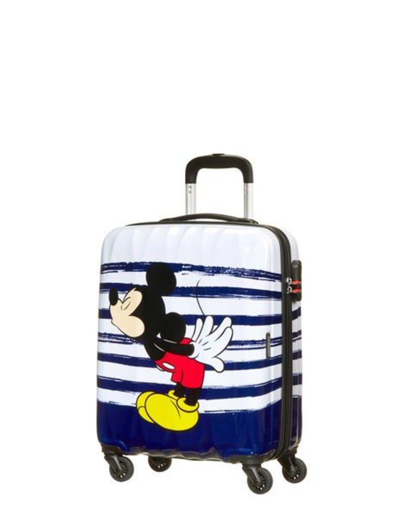 AMERICAN TOURISTER SAMSONITE MICKEY KISS CARRY ON SPINNER 92669