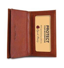 OSGOODE MARLEY 1212 BLACK RFID GUSSETED CARD CASE OSGOODE
