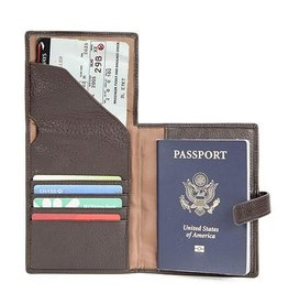 OSGOODE MARLEY 1246 RFID BRANDY PASSPORT WALLET OSGOODE