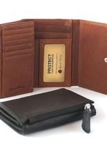 OSGOODE MARLEY 1250 PLUM RFID SNAP WALLET OSGOODE