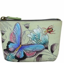 ANUSCHKA 1031 WWG  LEATHER COIN POUCH