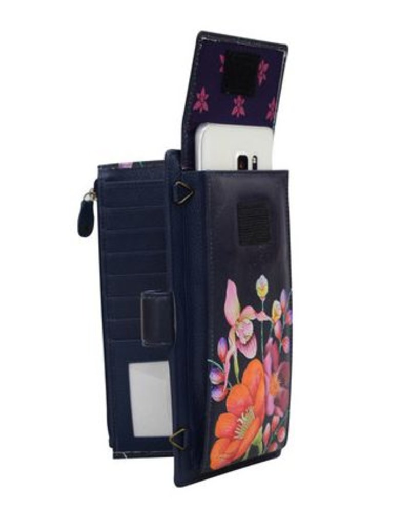 ANUSCHKA 1113 MLM CELL PHONE AND CARD CASE