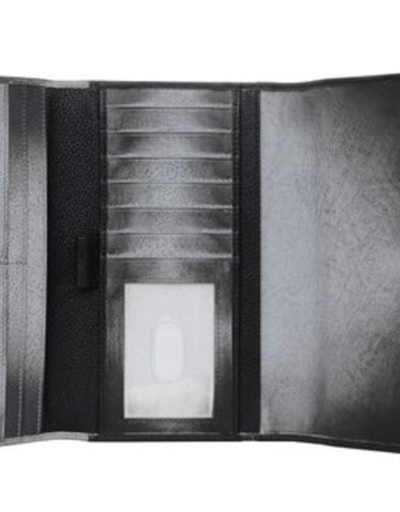 ANUSCHKA 1136 MGM THREE FOLD CLUTCH WALLET