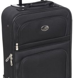 1ST CLASS 19 INCH CARRYON UPRIGHT BLACK