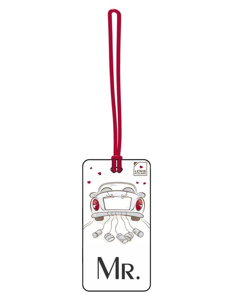 LEWIS N CLARK 7621 MR. LUGGAGE TAG