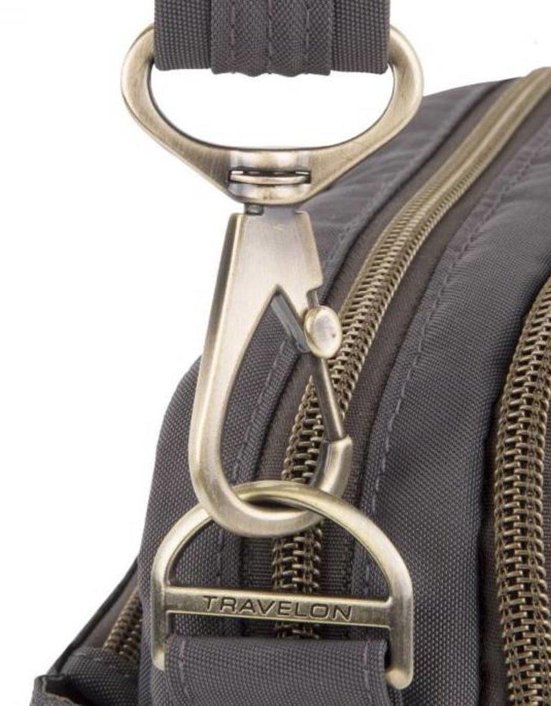 TRAVELON 43327 ANTI THEFT E/W SHOULDER BAG