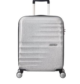 AMERICAN TOURISTER SILVER CARRYON SPINNER WAVEBREAKER