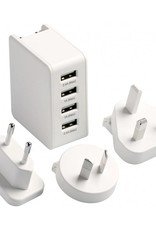 GO TRAVEL WORLDWIDE USB CHARGER 575