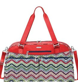 BAGGALLINI WEK889 WAVE PRINT DUFFLE FASHION