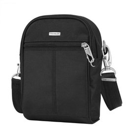 TRAVELON BLACK ANTI THEFT TOUR BAG