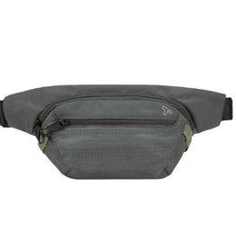 TRAVELON 43127 CHARCOAL ANTI THEFT WAIST BAG#