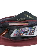 TRAVELON 43127 CHARCOAL ANTI THEFT WAIST BAG