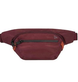 TRAVELON WINE  ANTI THEFT WAIST BAG#