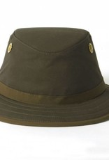TILLEY TWC7 73/8 TILLEY OLIVE OUTBACK WAXED COTTON HAT