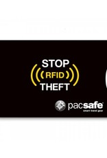 PACSAFE RFID SLEEVE 25 ( 2 PACK)  BLACK