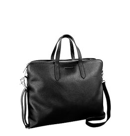 NEXTECH NXT1035 BLACK LEATHER COMPUTER BAG