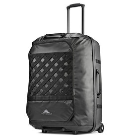 "HIGH SIERRA BLACK HYBRID WHEELED DUFFLE 30"" OTC"