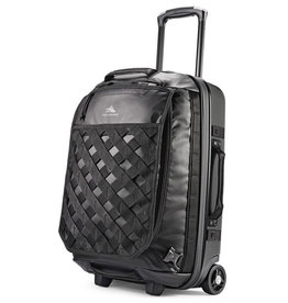HIGH SIERRA 1231073054 BLACK HYBRID WHEELED DUFFLE 22 OTC