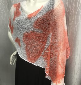 SHARANEL 101 SHORT CAPLET BUTTERFLY CORAL