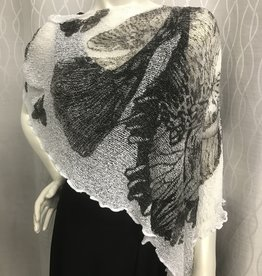 SHARANEL SHORT CAPLET BUTTERFLY BLACK