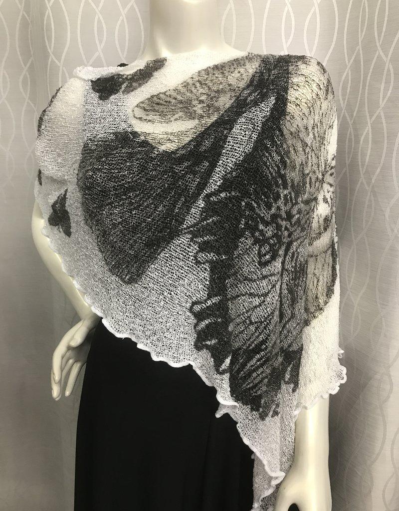 SHARANEL 101 SHORT CAPLET BUTTERFLY BLACK