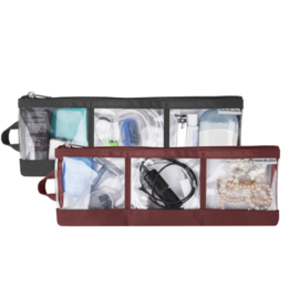 TRAVELON Set of 2 Accessory Organizers ASSORTED COLOURS