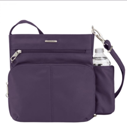 TRAVELON Anti-Theft Classic N/S Crossbody  ASSORTED COLOURS
