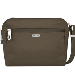 TRAVELON Anti-Theft Classic Convertible Crossbody & Waist Pack  ASSORTED COLOURS
