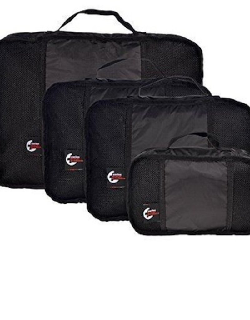 PACKING CUBE 4 PIECE SW BLACK 10056