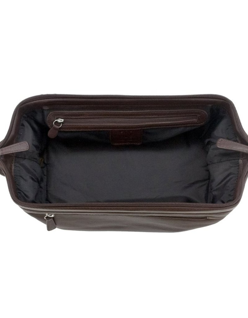 ILI 6402 LEATHER TOILETRY