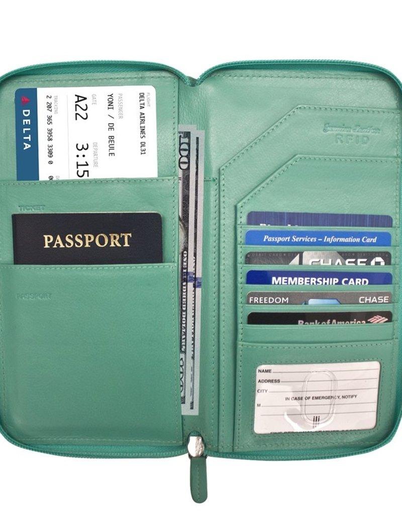 ILI 7505 RFID PASSPORT TRAVEL WALLET