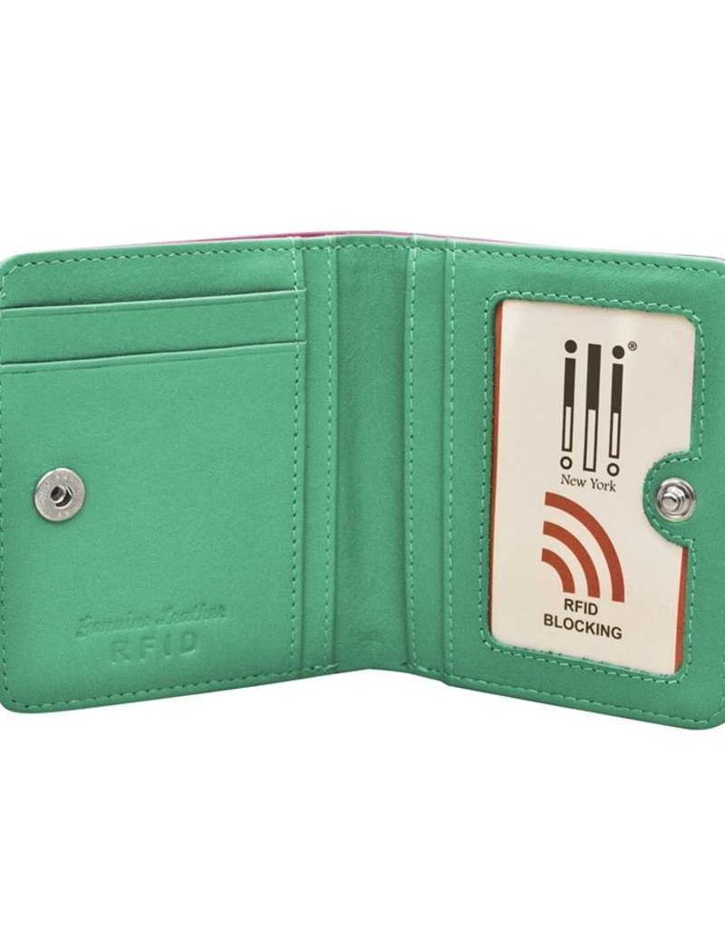ILI 7813 RFID WOMENS WALLET COMPACT