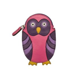 ILI OWL LEATHER COIN PURSE