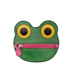 ILI 6450 FROG LEATHER COIN PURSE