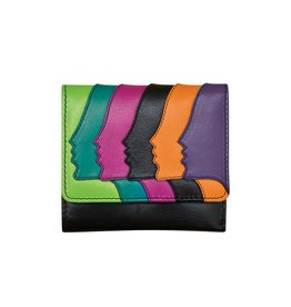 ILI RFID FACES TRIFOLD WALLET
