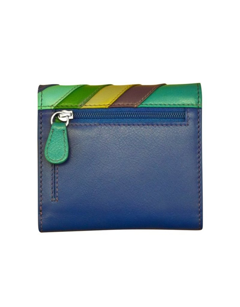 ILI 7421 RFID FACES TRIFOLD WALLET