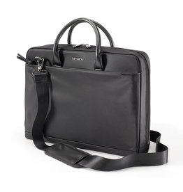 SAMSONITE SLIM BRIEFCASE ROSALINE 15.6 BLACK