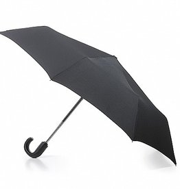 FULTON BLACK UMBRELLA OPEN CLOSE