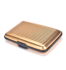 HOLIDAY GROUP ABS RFID CARD HOLDER GOLD #